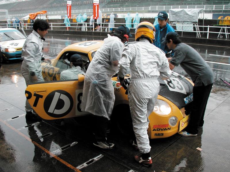 「K4 GP 富士1000km耐久エコラン」2003年8月14日/富士スピードウェイ/D-SPORTコペン