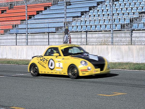 「十勝GPコース軽自動車5時間+α耐久レース」2003年11月9日/十勝スピードウェイ/D-SPORTコペン