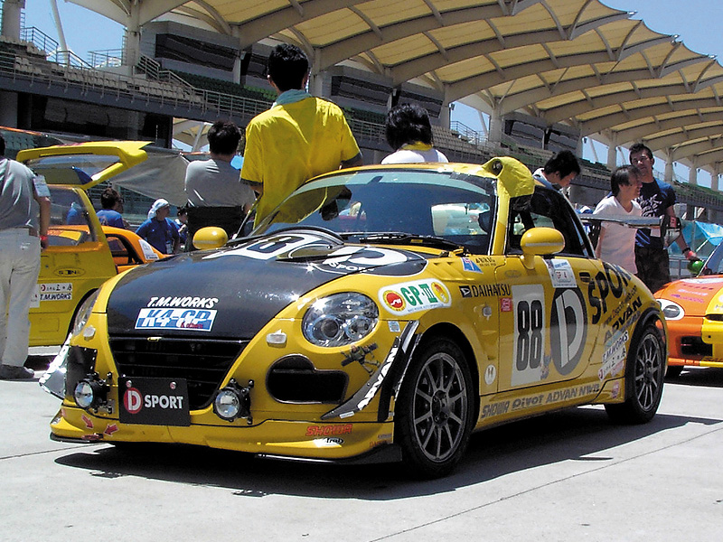 「K4 GP セパン24時間耐久レース」2007年2月10日/セパン・インターナショナルサーキット/D-SPORT ADVAN コペン